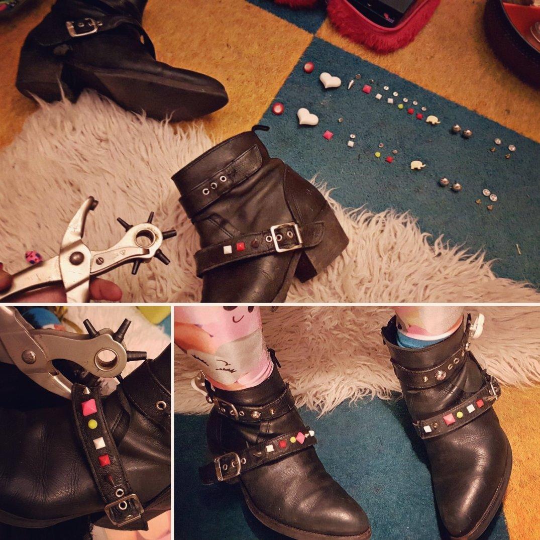 Schoenen met studs