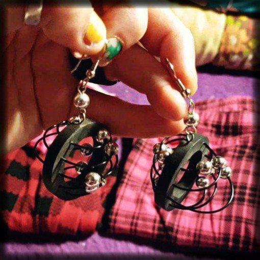 Jaren tachtig oorbellen