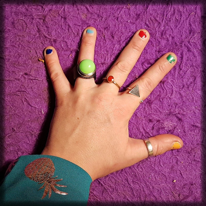 Nieuwe groene ring