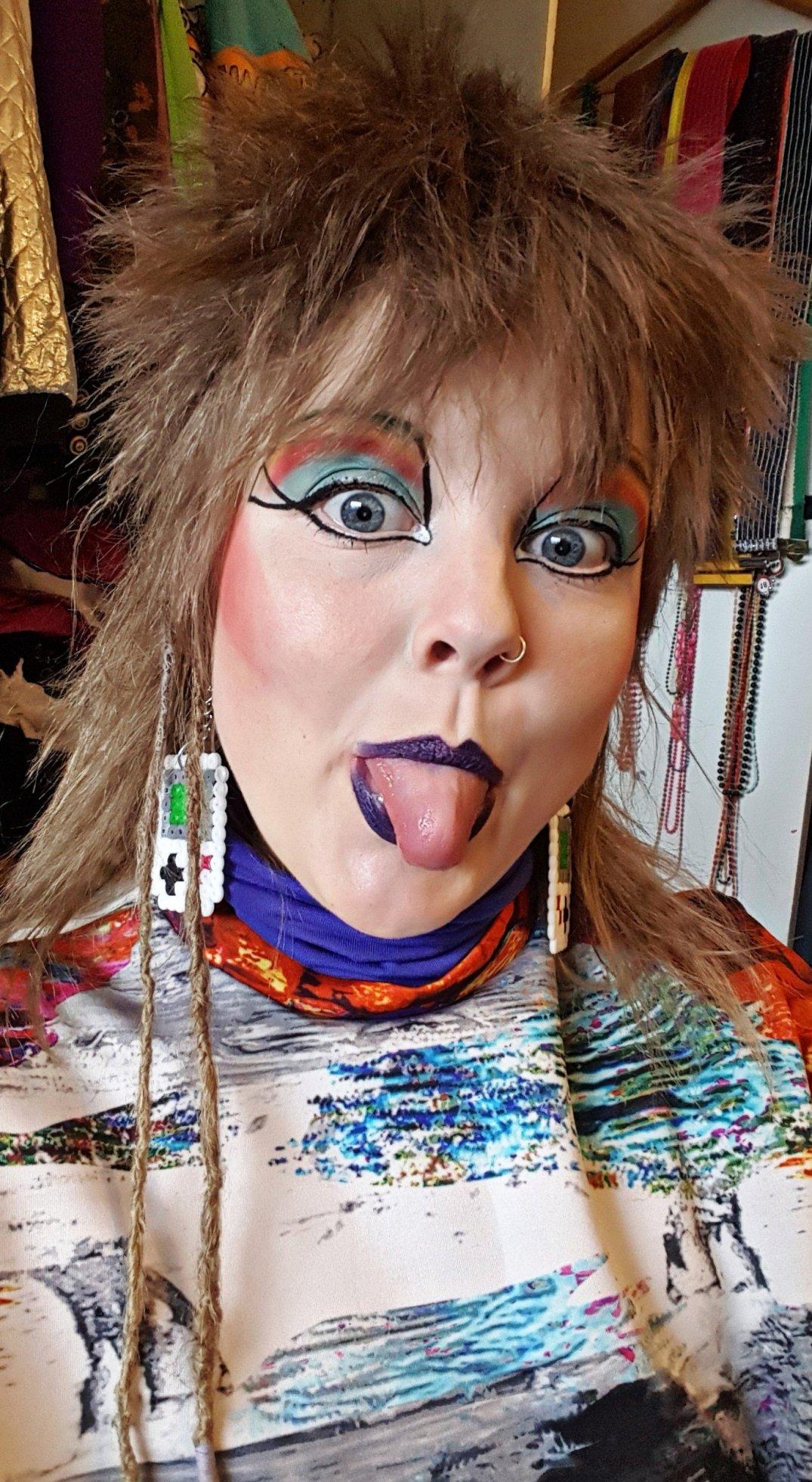 Eigties Make-up Leonie Ruissen