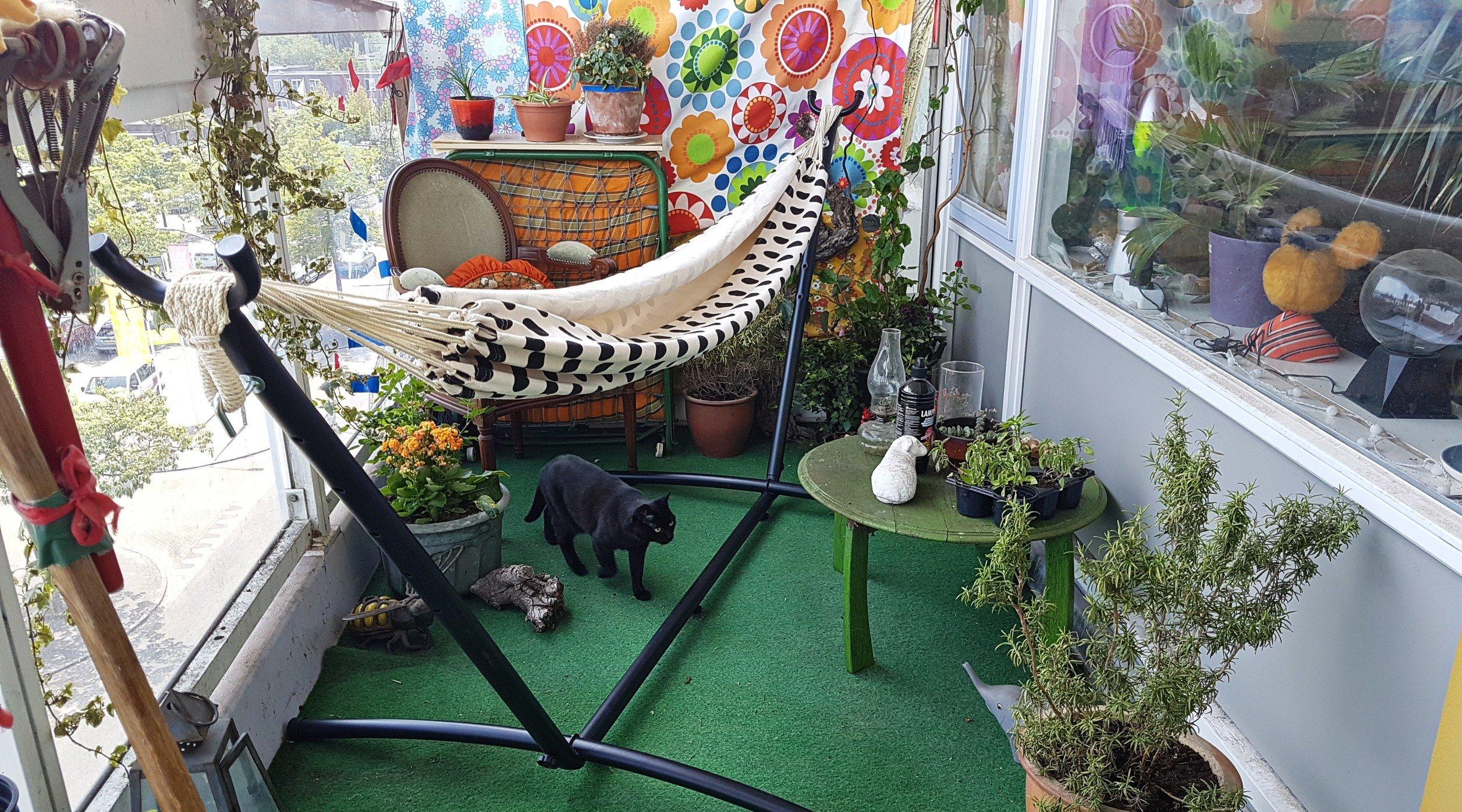 Hangmat Op Balkon : Hangmat hammock u leonies paradijs